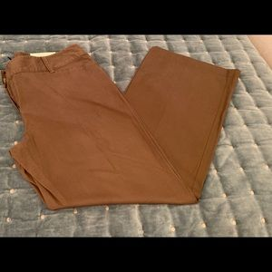 Ann Taylor nwts size 14 curvy bootcut pants